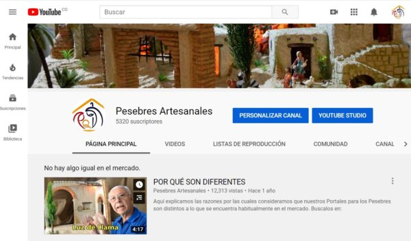 Nuevo Canal en YouTube