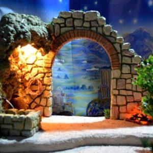 PS-022 Arco-Cueva-Fuente para Fig. 15-20 cm