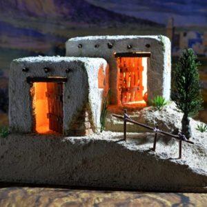 PC-019 Casa Montaña con Luz para figuras de 7 cm/ 2.7″