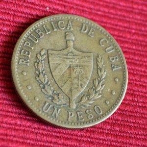 LG-229 Colombia Un Peso 1985