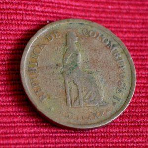LG-231 Colombia Cinco Pesos 1980