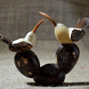 AA-415 Pareja de Pájaros en Tagua