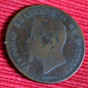 LG-259 Italia 5 Centimos 1861