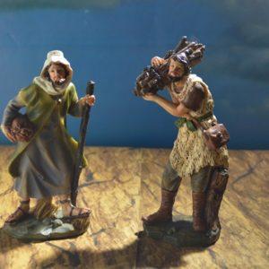 FA-009 Aldeano Leñador y Pastor de 20 cm