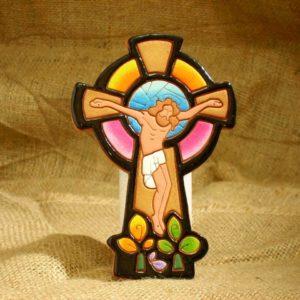 AC-220 Cristo en Terracota
