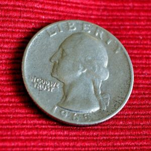 LG-268 USA 25 Centavos 1965