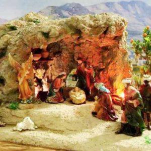 PS-011C Portal Cueva con Figuras de 11 cm.